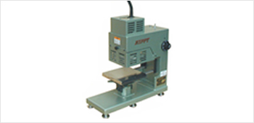 Hot stamp machine machie photo